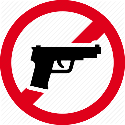 forbidden prohibited gun pistol handgun pistole 512