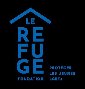 logo fondation le refuge bleu